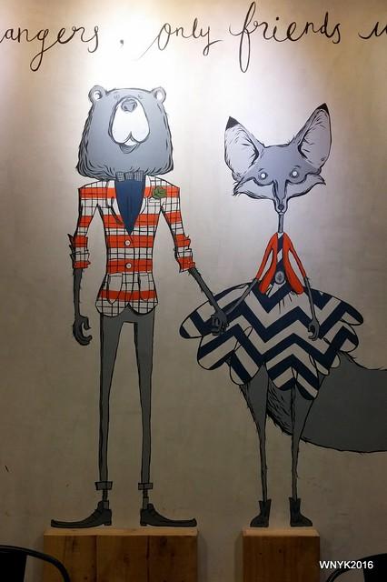 Bear & Fox