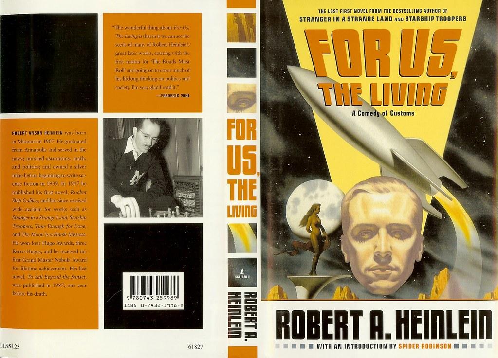 For Us The Living Robert A Heinlein Cover Artist Mark Flickr - Heinlein us map