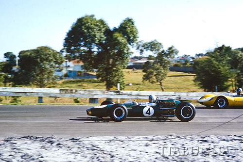 Jack Brabham in Melbourne, Feb 1965. | by tiabunna