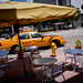 Taxi at Pizza Rustica on Washington Avenue - South Beach, FL