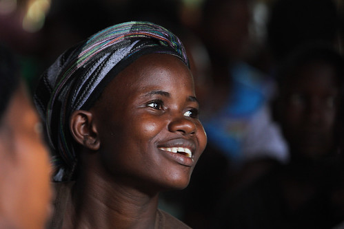 Sierra Leone smile.