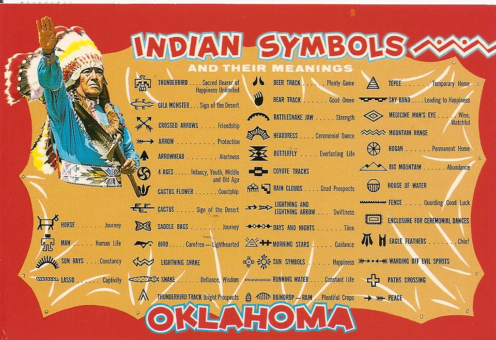 Indian Symbols American Indian Symbols And Their Meanings Flickr