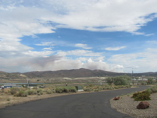 Pyrocumulous from the Chimney Fire Near Lee. NV | by Jeremy-R-Michael