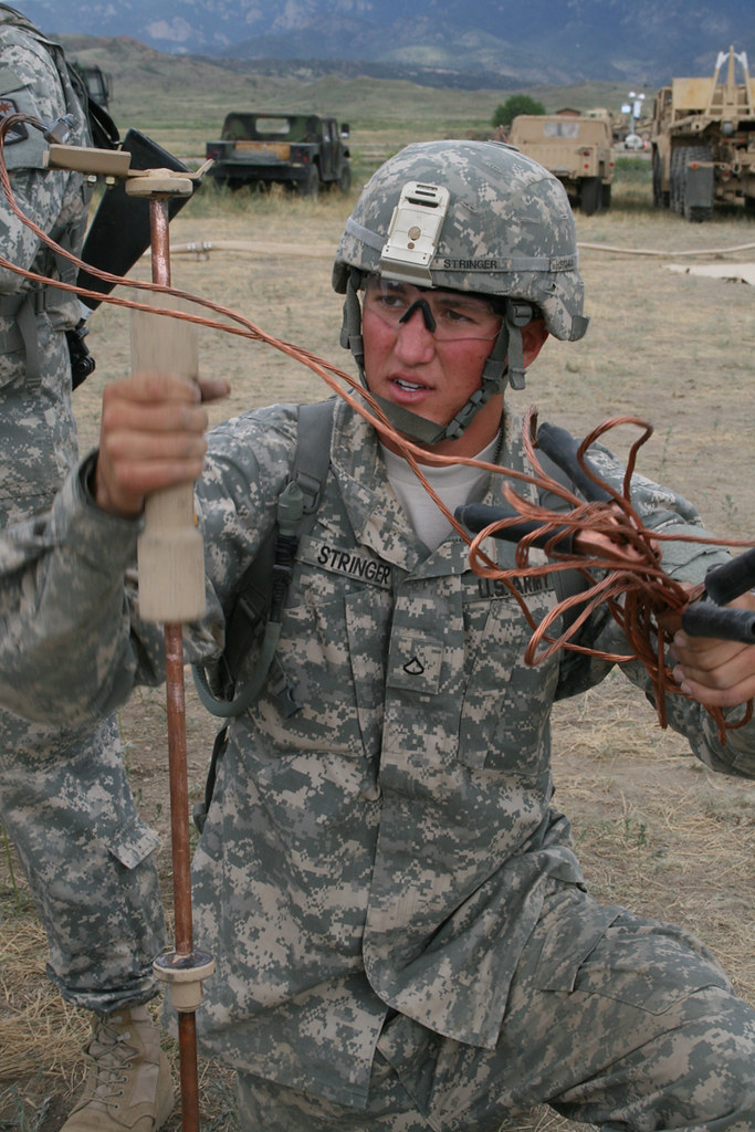 Grounding Rod Fort Carson Colo Private First Class