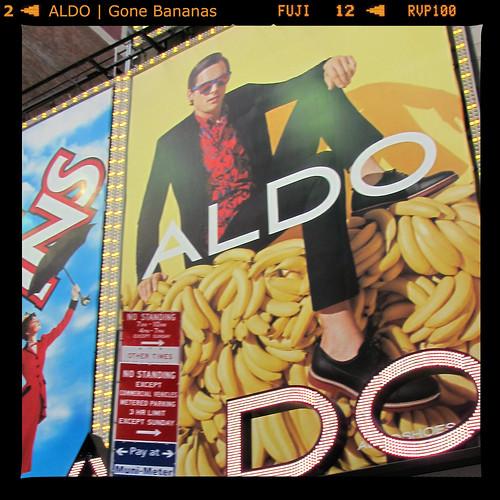 AldoBananas | Broadway • Times Square, NYC