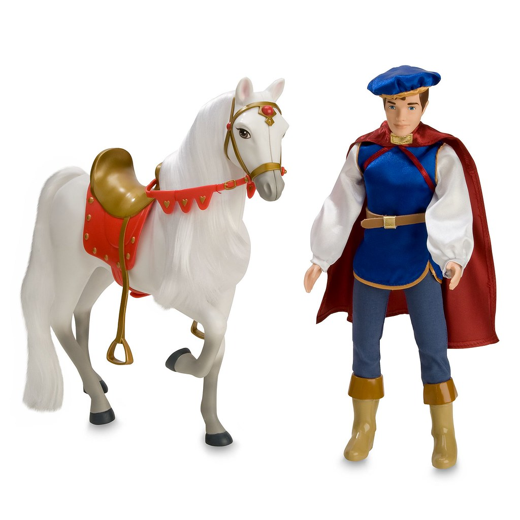 2009 Snow White Prince Doll with Horse - Disney Store - Pr ...