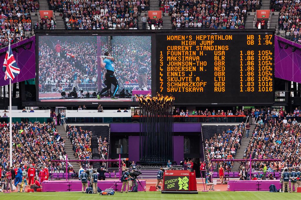 Scoreboard Olympic Stadium London 2012 Olympics 0255 | Flickr