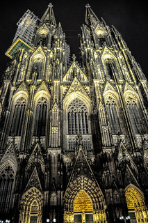Cologne Cathedral (Kölner Dom) at Night - Cologne Germany | by mbell1975