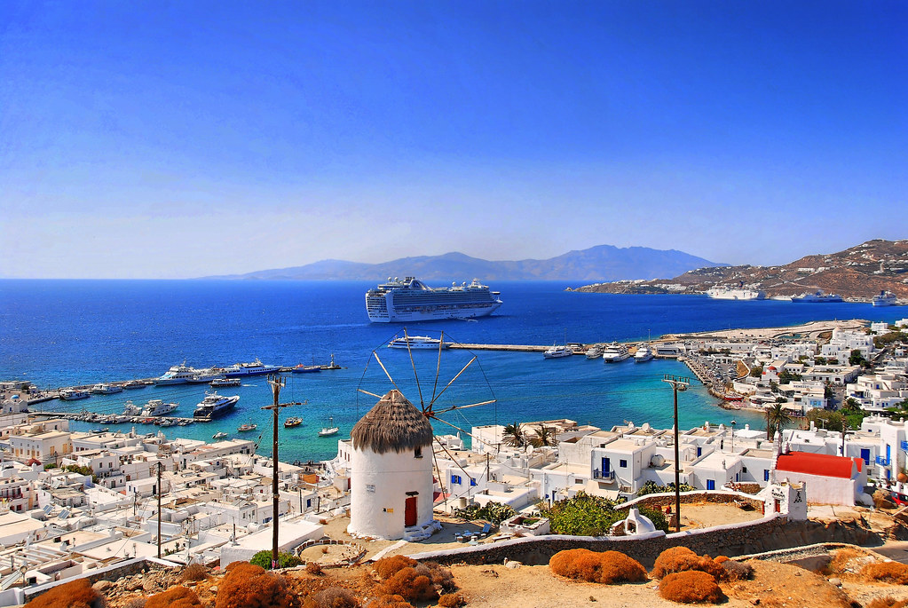 Cruise Ship Ruby Princess Quot In The Bay Of Mykonos Cruise