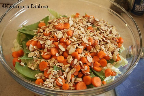 Asian Peanut Salad: Nuts