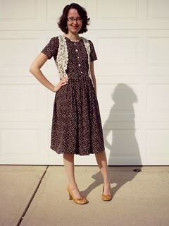 1960s // Vintage Inspired // Polka Dots | by Bramblewood Fashion