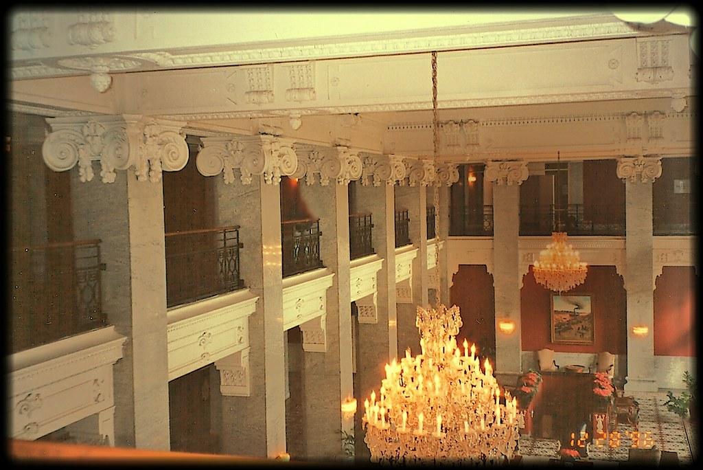 Alexandria La Bentley Hotel Interior Photo 1996 Flickr
