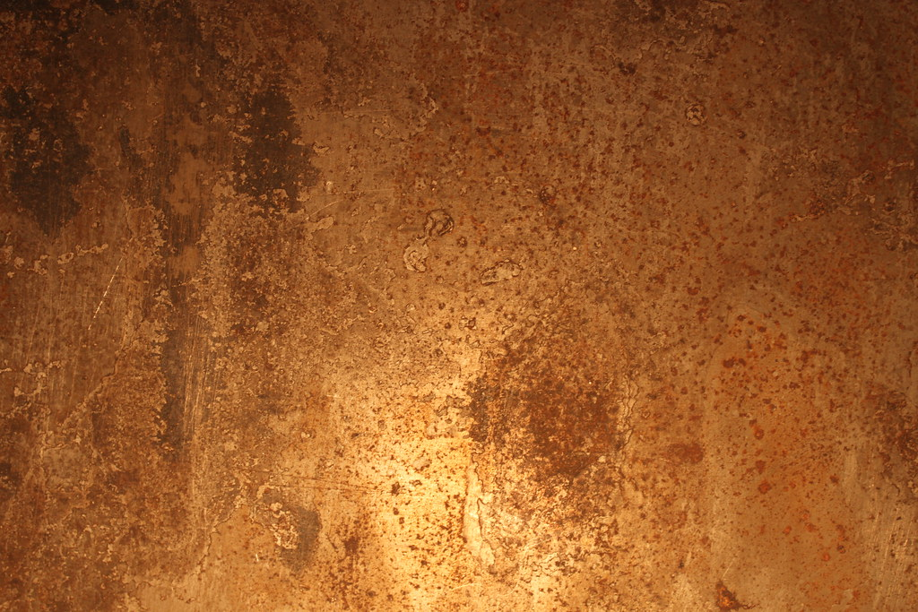 Faux Rust Wall Paint