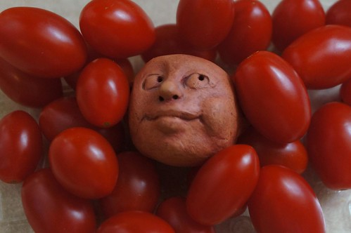 Head Amongst Tomatoes | by ricko