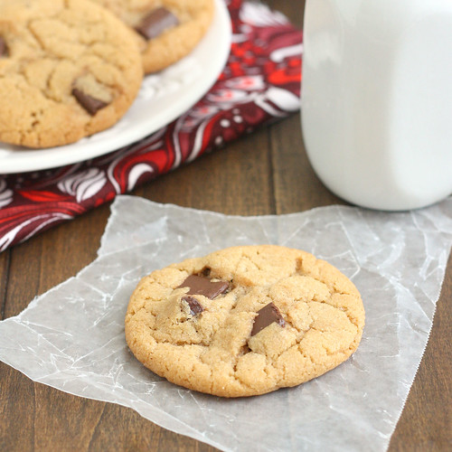 100% Whole Wheat Chocolate Chip Cookies | by Tracey's Culinary Adventures