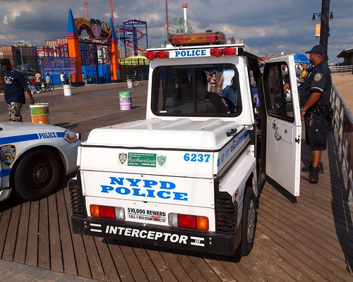 P060s NYPD Beach Patrol Police Vehicle, Coney Island, Brooklyn, New York City | by jag9889