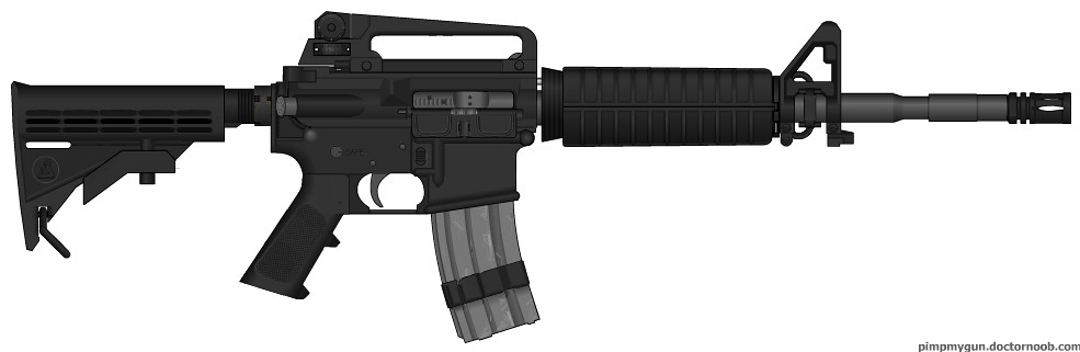 Colt M4a1 Just Some Quick Few Changes From The Last M4a1