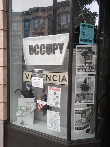 (Occupy) Valencia (relocated) | by Eric Fischer