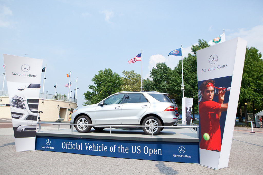 mercedes benz sponsoring us open tasting preview 2012