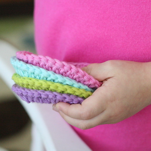 Cotton Face Scrubbies | by Daisy Cottage Designs