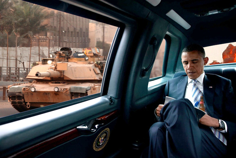 Riding With Obama