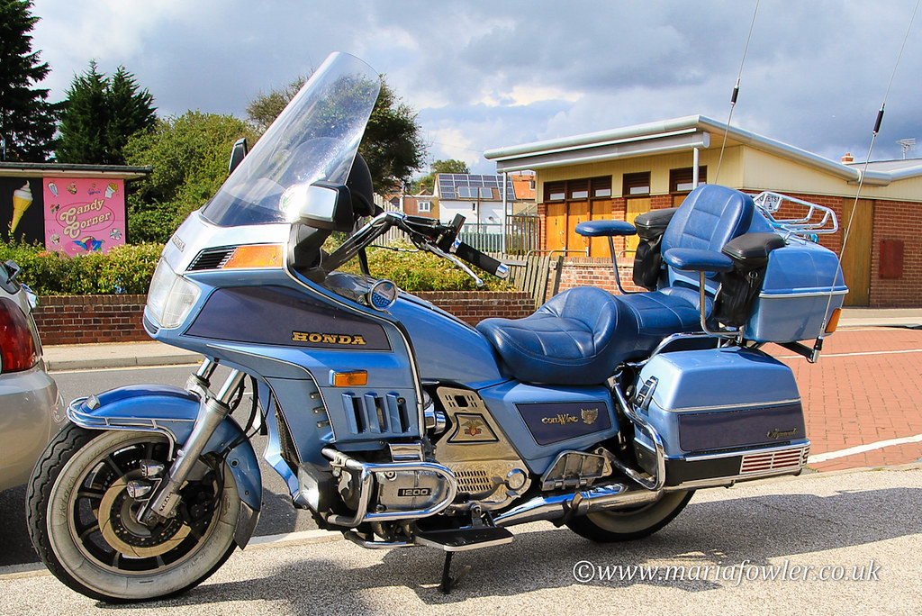 New Goldwing Motorcycle