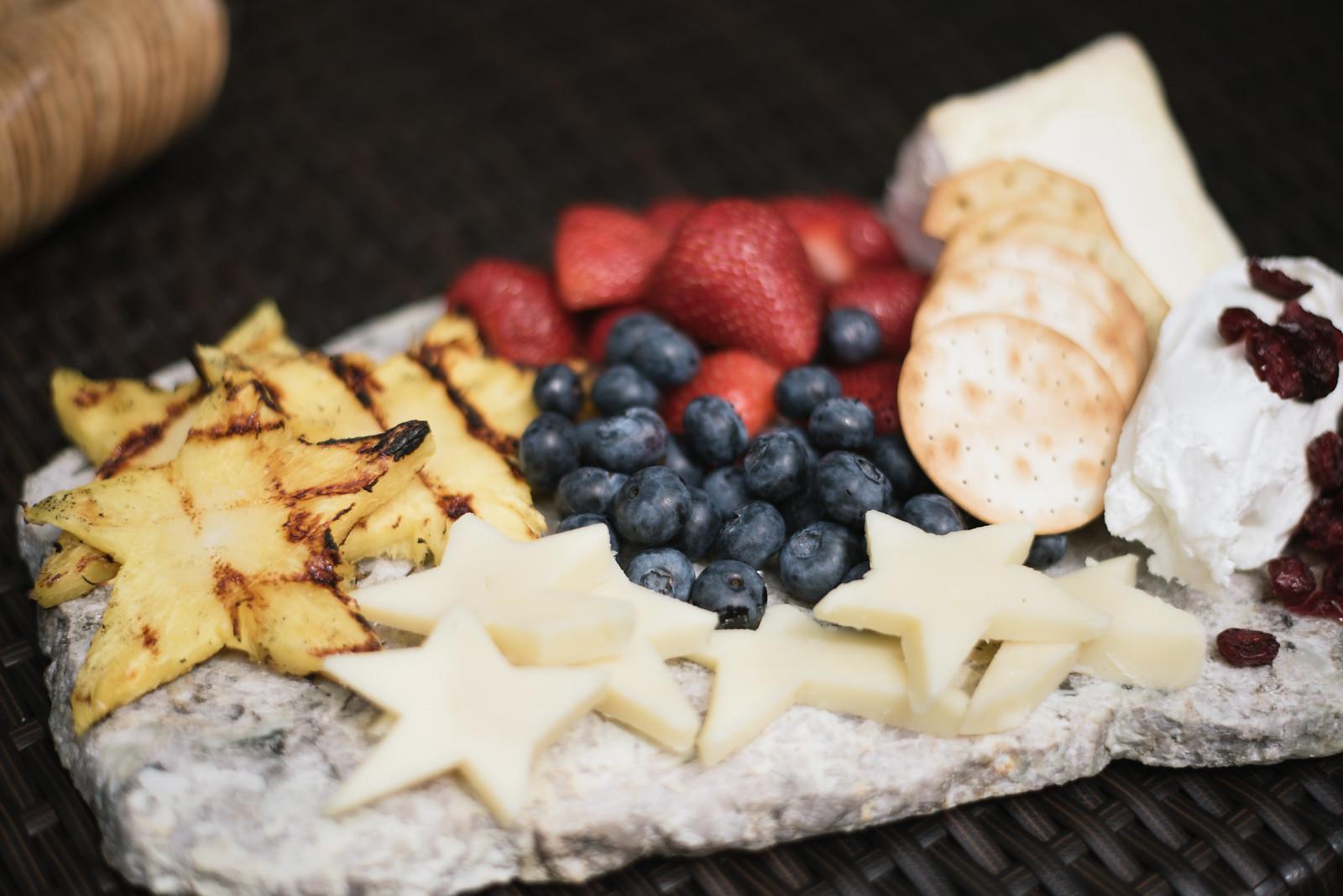Fruit and Cheese Plate DIY Tutorial on juliettelaura.blogspot.com