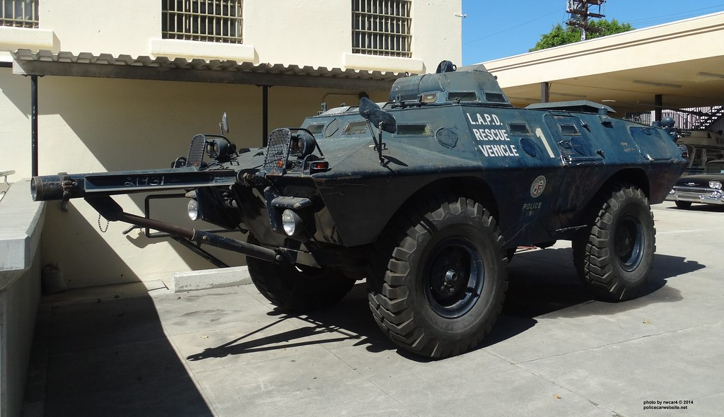 Lapd Cadillac Gage Commando V100 Armored Vehicle 9 Flickr