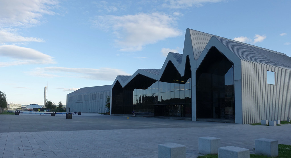 riverside museum of transport glasgow by zaha hadid flickr. Black Bedroom Furniture Sets. Home Design Ideas
