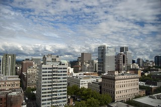 Portland from our Room | by Chris Koerner