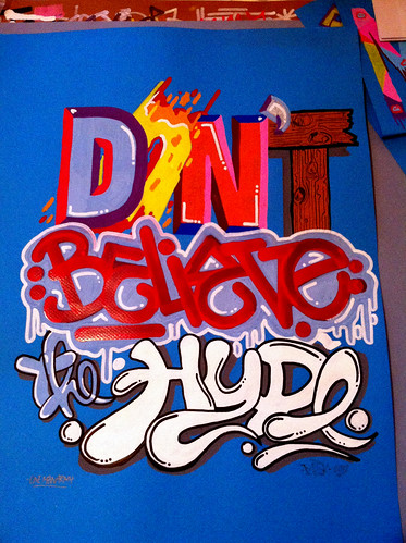 mesk / lettering / dont believe the hype . public enemy | by yonkidz crew