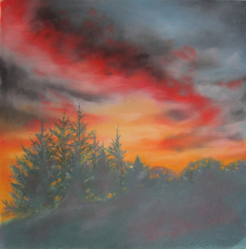 Line of Fire - with revised foreground | by Bev Morgan