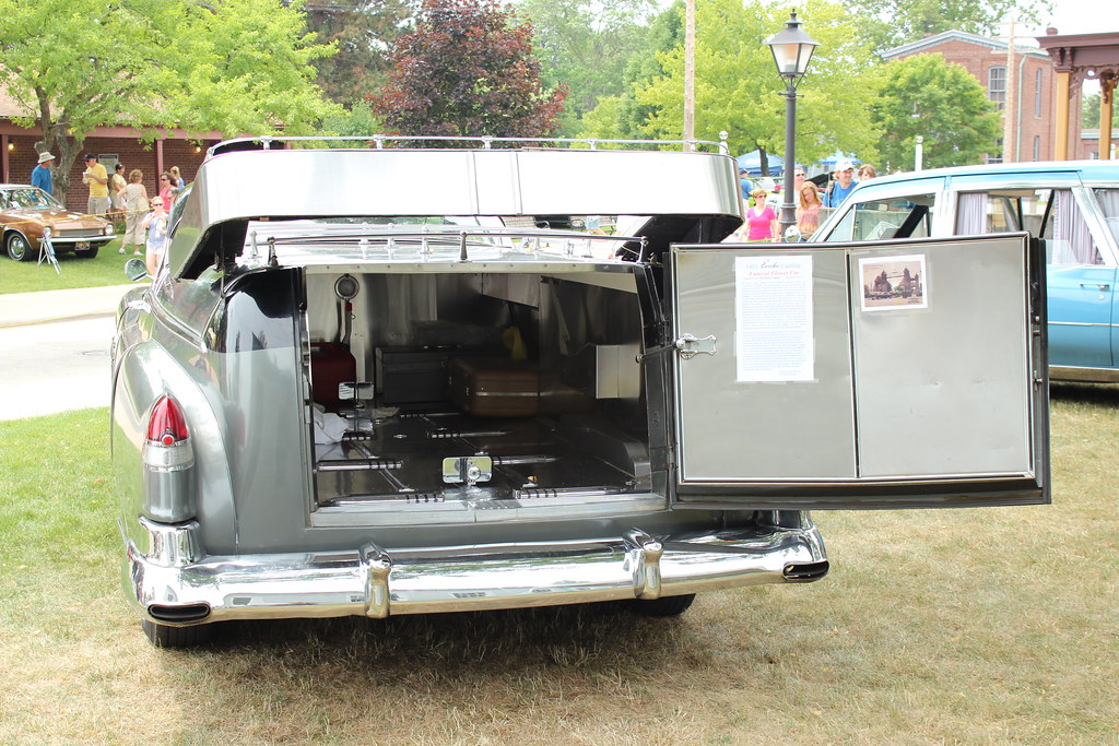1953 Cadillac Eureka Funeral Flower Car Richard Spiegelman Flickr