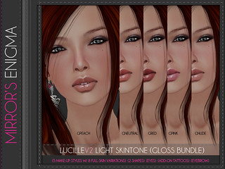 LucilleV2 Light Skintone (Gloss Bundle) | by Ydreece Forster