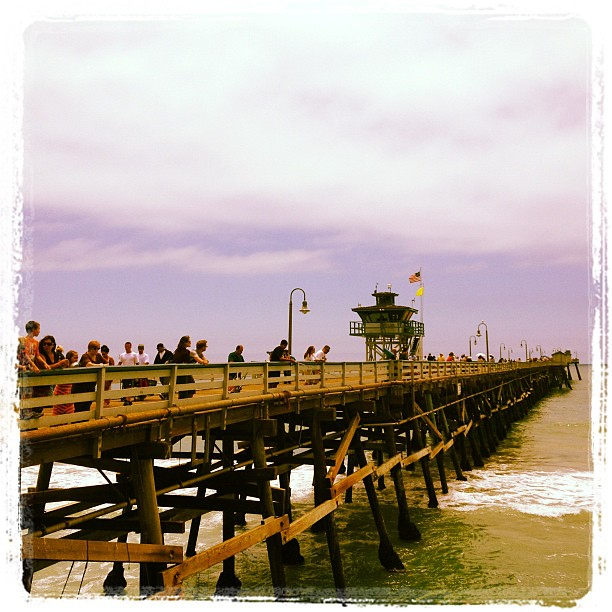 san clemente pier the sun is out fisherman 39 s restaurant. Black Bedroom Furniture Sets. Home Design Ideas