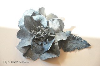 denim flowers :: a DIY | by // Between the Lines //