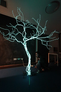 Electroluminescent tree testing | by - Hob -