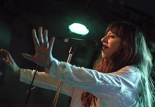 Foxes (Louisa Rose Allen) @ Pianos, NYC - July 11 '12 | by ecgroom
