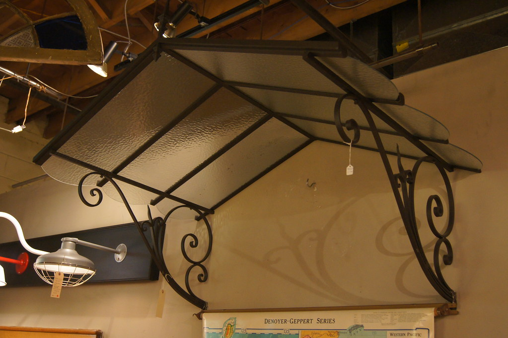 Wrought Iron Awning 5406