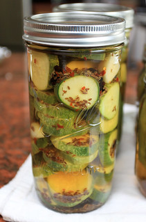 Refrigerator dill pickles | by the boastful baker