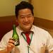 Iwasaki-san and his sake