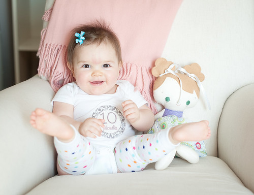 Clara ten months | by I Should Be Folding Laundry