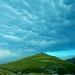Pizzo Sassotetto sotto le nuvole - Monti Sibillini