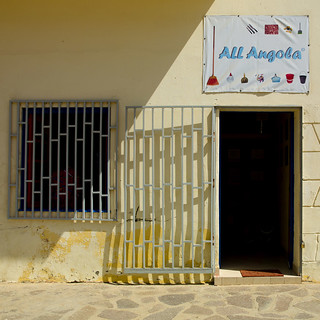 Store Selling Goods Made In Angola, Namibe Town, Angola | by Eric Lafforgue