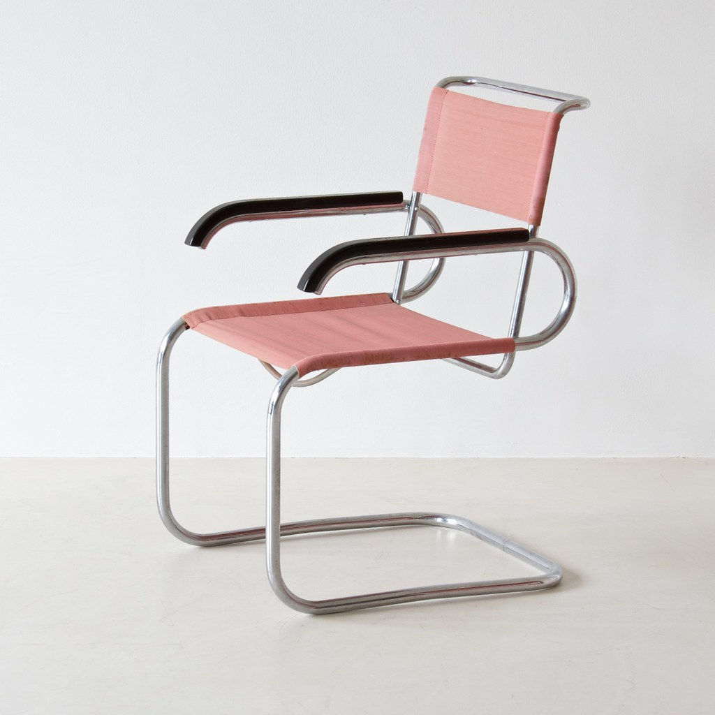 ... B 55 cantilever chair by Marcel Breuer for Thonet | by C. Enache & B 55 cantilever chair by Marcel Breuer for Thonet | REF: 020u2026 | Flickr