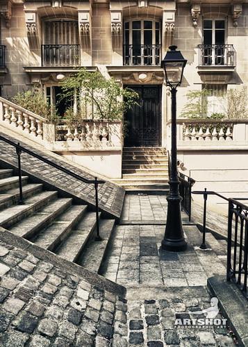 Paris - Treppen