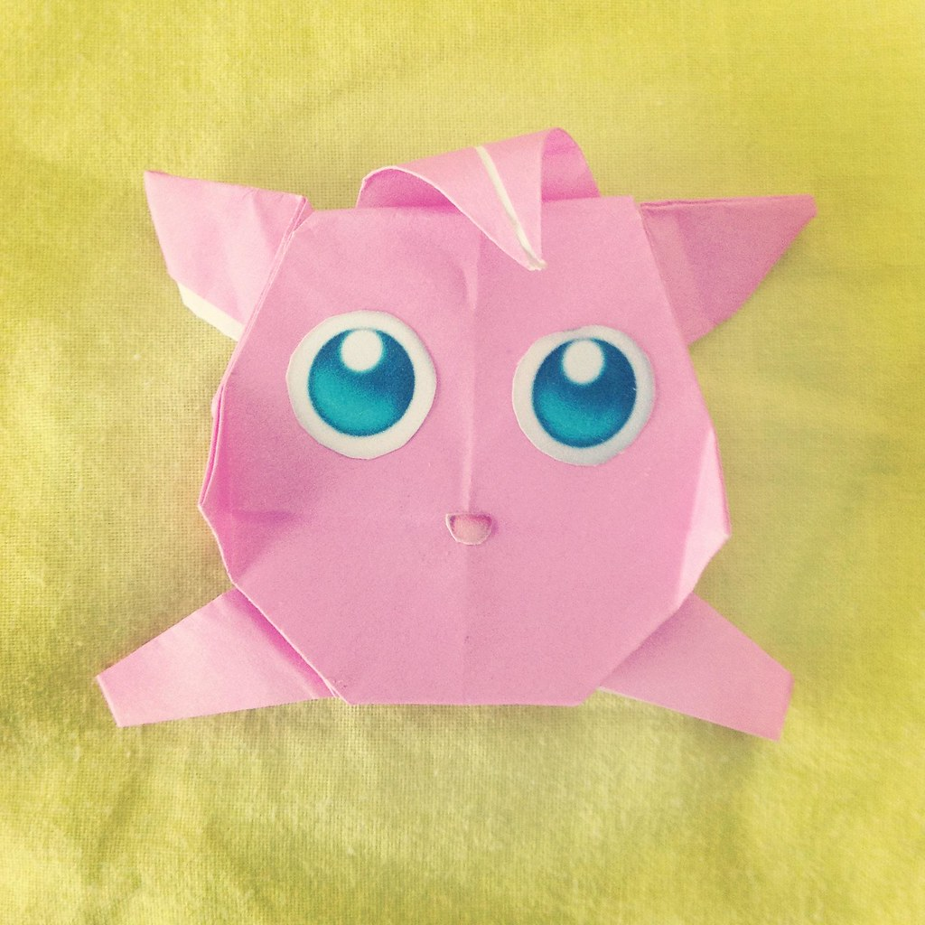 jigglypuff in origami | Donatella Principi | Flickr - photo#4