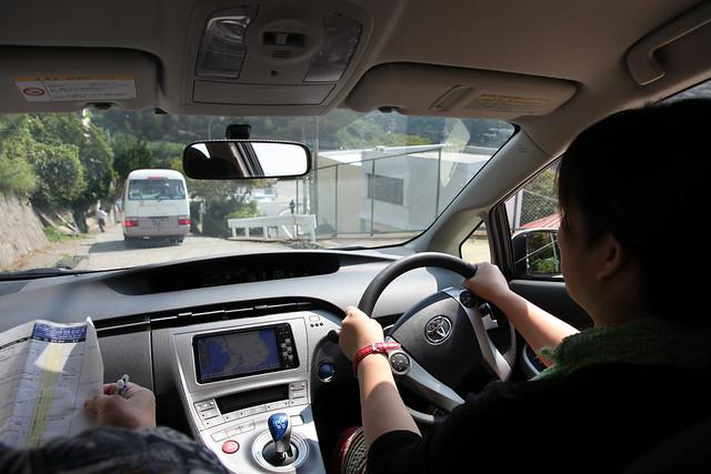 日本中部租車行第三天