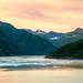 Sunrise & Alaska Mountains
