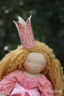 A fabric crown for a princess | by Fig & Me